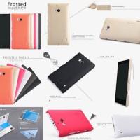 Free Anti Gores Armor Lumia 930 Nillkin Hard Case Cover Nokia Lumia930