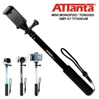 Attanta Tongsis Monopod 4 GoPro DSLR Camera Smartphone Original Resmi