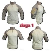 baju tactical/baju bdu/combat shirt/baju combat/baju velcro