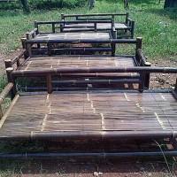kursi bambu hitam bale