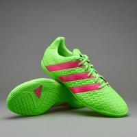 Sepatu Futsal Adidas  16.4 in 2016 (green and pink)