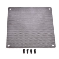 Filter Fan mesh ukuran 12cm x 12cm (plat besi bukan kain)