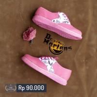 Sepatu Wanita Dr Martens / Docmart Pink