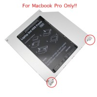 Caddy Case SSD/HDD SATA Apple Macbook Pro with fast data transfer