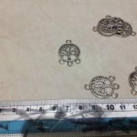 Liontin/mata kalung/bandul/ bulat unik siver aksesoris perhiasan