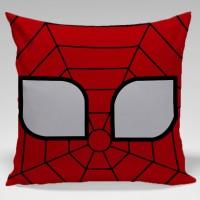 Bantal Sofa / Dekorasi superhero - Face Spiderman