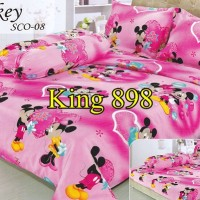 Sprei Mickey Mouse Pink Import Uk 180x200 - King 898