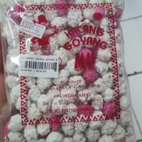 Oleh - Oleh / Jajanan / Khas Manado - MU Kacang Goyang Putih Pink Sdg