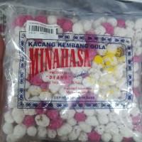 Oleh-Oleh/Jajanan / Khas Manado - Minahasa Kacang Goyang Putih Pink S