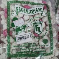 Oleh - Oleh / Jajanan / Khas Manado - FL Kacang Goyang Putih Pink Sdg