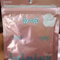 Lululun Japan Face Mask Moist Wet Type Pink 7 sheets