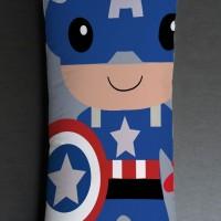 Bantal Sofa / Dekorasi superhero - Captain America Panjang