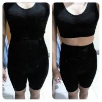 Ahh Bra Body Shape Pants Baju Senam Renang Camisole Daleman