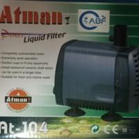 Pompa Air Atman AT-104 untuk Akuarium dan Kolam