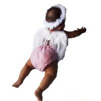 sayap bando malaikat baby born photo booth angel wing putih