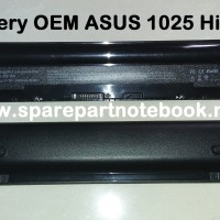 Battery ASUS Eee PC 1025/1225/R052/A32-1025 Hitam (OEM)