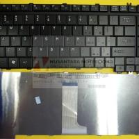 Keyboard Laptop Toshiba Satellite A200 A205 A300 M200 M300 L510 Hitam