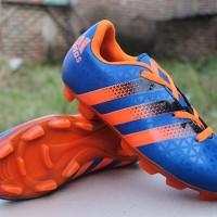 sepatu bola Adidas ACE 16.2 Biru Orange (terbaru,keren,new,2016)
