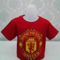 Best Quality Kids T-shirt Manchester United-Merah-Free tambah nama-