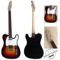 gitar listrik custom fender telecaster jual murah