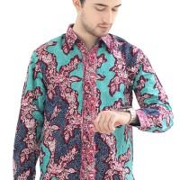 Model Baju Batik Pria Cap Asli Jambi Berkualitas - Zallatra