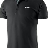 polo shirt/ kaos kerah/ tshirt/ kaos/ baju kerah Nike ( black )