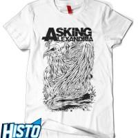 Kaos Asking Alexandria - AAX13 White