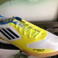 Sepatu Futsal Adidas F10 IN YELLOW