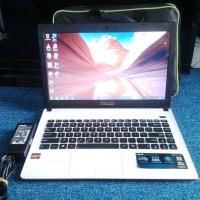 Laptop Asus X401U AMD Radeon Putih Mulus Cakep Murah Aja Gan/Sis