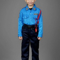 baju pemadam kebakaran/baju profesi/damkar baret/kostum anak
