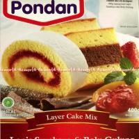 Tepung Kue Instant Pondan Lapis Surabaya Bolu Gulung layer cake mix