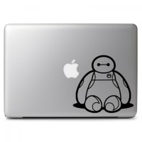 093 macbook decal sticker vinyl aksesoris laptop baymax