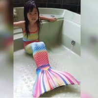 Baju Anak Baju Renang Anak Kostum Anak Mermaid Size L (8-10 thn)