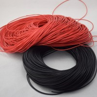 20 AWG Silicone Wire Cable 1 Cm Black - Kabel Hitam