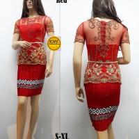 Busana Wanita Baju Kebaya Modern Pakaian Wanita Kebaya Akad Nikah