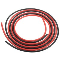 14 AWG Silicone Wire Cable 1 Cm Red - Kabel Merah
