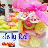 Jelly Roll / Jelly Candy / Permen Jeli - Toples gift kado Mini