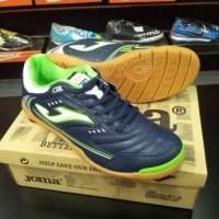 Sepatu Futsal Joma Maxima Navy Lemon (MAXW.503.PS)