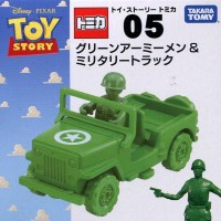 TOMICA TOY STORY 05 GREEN ARMY MAN & MILITARY TRUCK