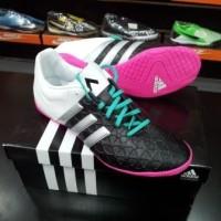 Sepatu Futsal Adidas ACE 15.4 Black White AF5042