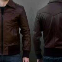 jaket kulit asli kulit domba