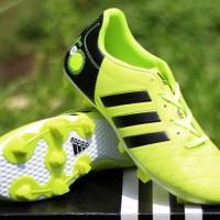 sepatu bola Adidas Adipure 11Pro Hijau Hitam (keren,terbaru,2016)