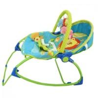 Bouncher Kursi Bayi Pliko Rocking Chair Hammock 3 Phases Lion