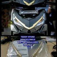 Aksesoris Garnish Headlamp / Headlight New Honda Vario 125 150 ESP ORI