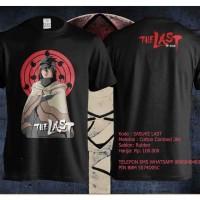 NARUTO - Kaos / T-shirt Sasuke The Last Movie Uchiha Anime