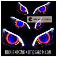 Proyektor AES6 Alis Atas Ninja 250 Fi (Termasuk Headlamp)