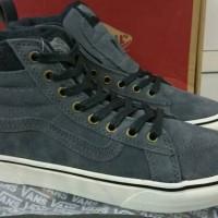 Sepatu Kets Vans SK8 - High MTE Gris Abu Hitam