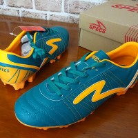 Sepatu Sepak Bola Specs Horus FG Tosca Orange Terbaru 2016 Original
