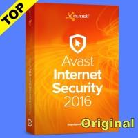 Avast Internet Security 2016 2 Tahun 3Pc Antivirus Original