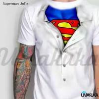 Kaos 3D Superman Untie